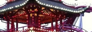 Det Kinesiske Tårn med de mange lamper