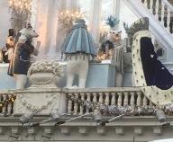 Årets juleudsmykning på Hotel D'Angleterre